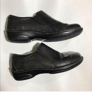 Born Women's Black W31270 Slip On Clog Size 8
